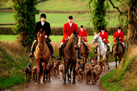 Tiverton Foxhounds - 29.12.12 - Pond Farm